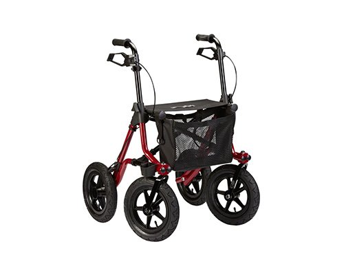 Rollator Dietz Taima XC (luftbereift rot outdoor)