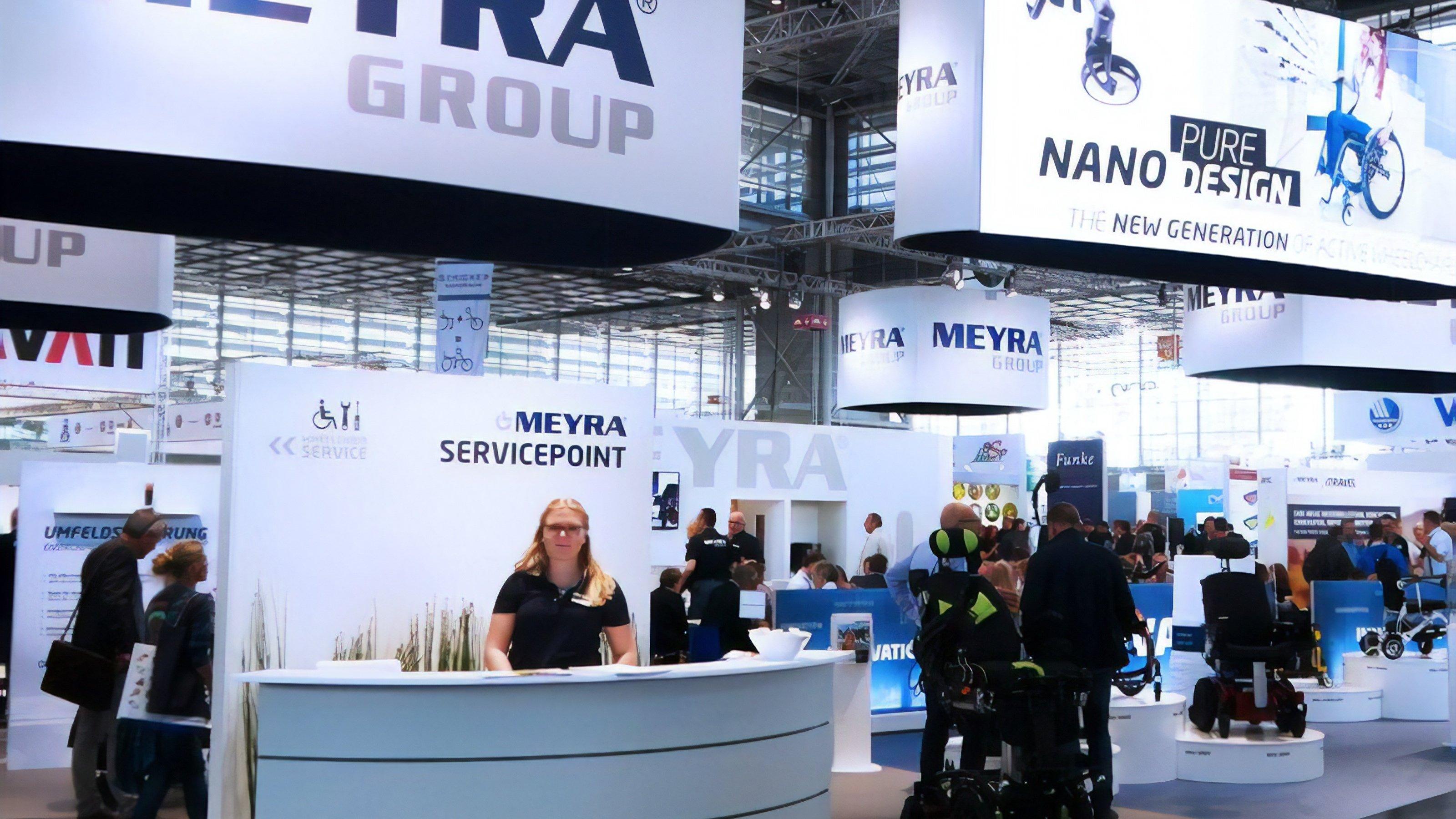 Meyra-Stand auf der REHACARE 2018 in Düsseldorf