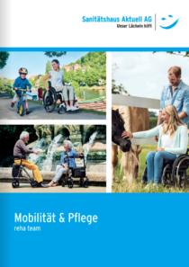 Frontseite Katalog Mobilität und Pflege